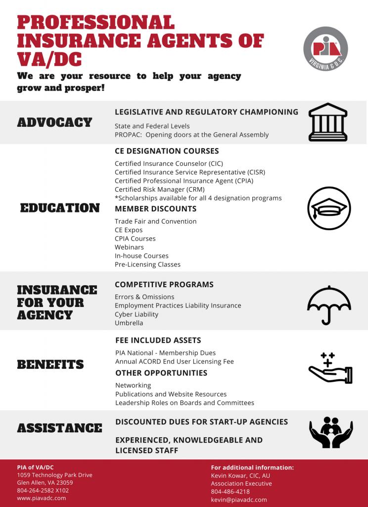 2021 PIAVADC Benefits of Membership Infographic 8.5x11